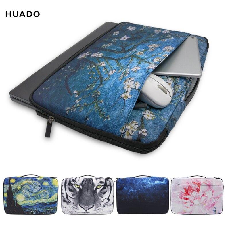 Newest Portable Laptop Bags for hp/lenovo/sony/dell/xiaomi Handbag Sleeve For macbook air/pro 13 15 Men Women