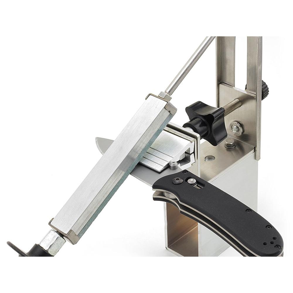 KME Knife Sharpening System 360 Degree Rotation pencil knife Apex edgeknives sharpener Aluminum alloy Free shipping
