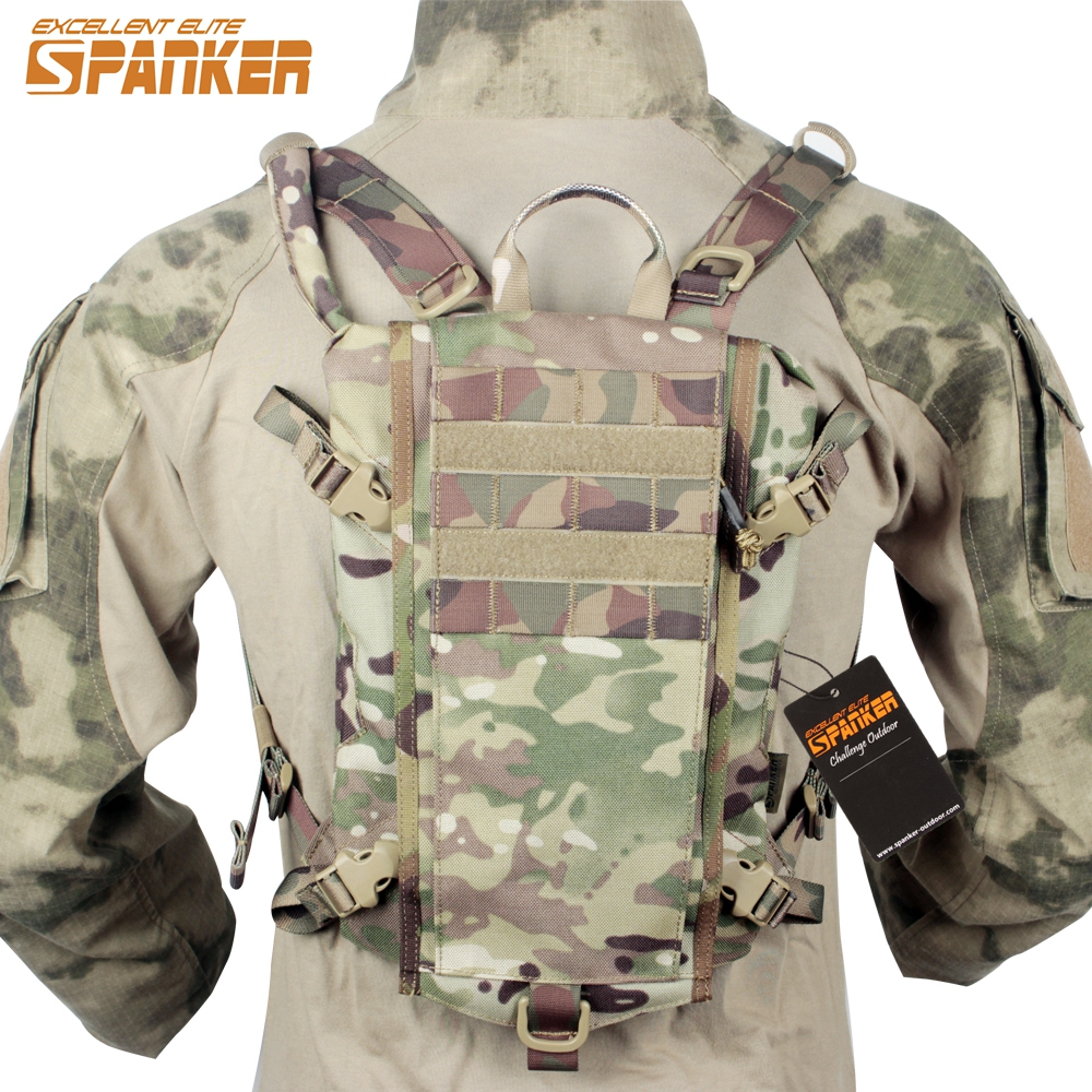 Element Airsoft Tactical Outdoor Molle Hydration Carrier Armor Water Bag Backpack Paintball Quick-opening Equipment EP122 airsoft adults cs field game skeleton warrior skull paintball mask