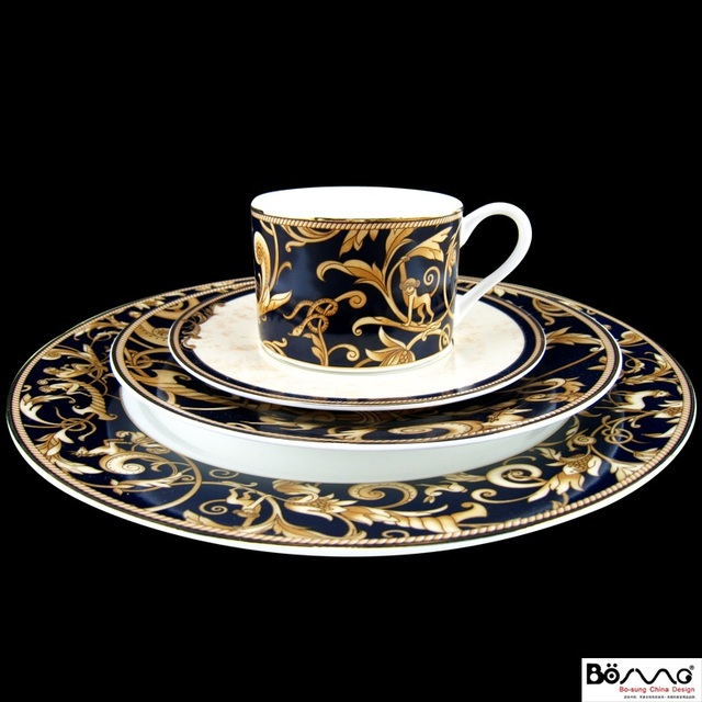 Western style Western-style tableware coffee set ceramic cup saucer spoon & Western style Western style tableware coffee set ceramic cup ...
