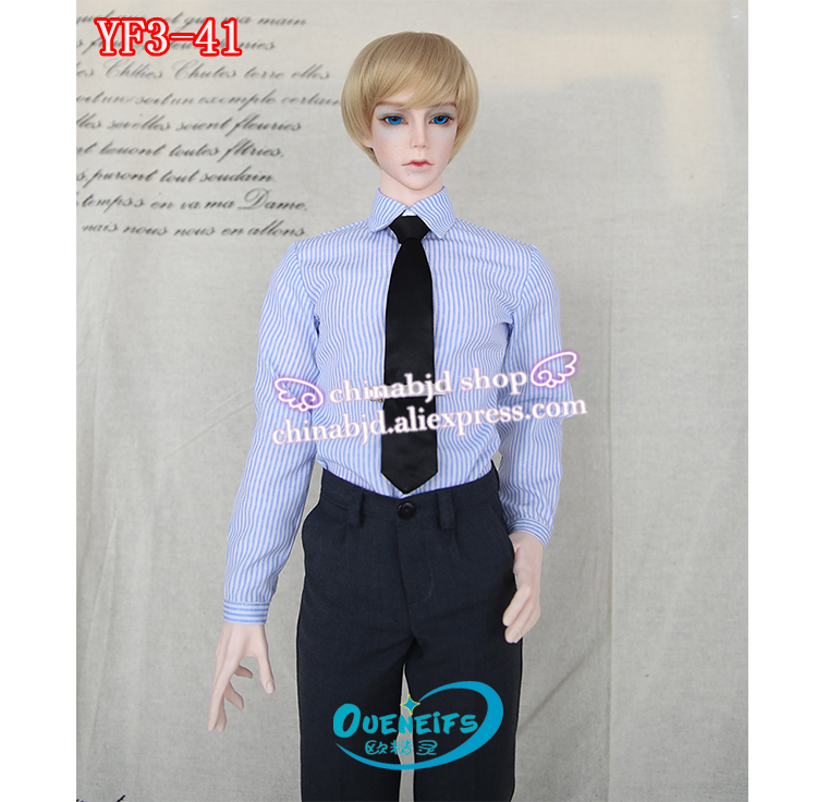 OUENEIFS free shipping customization clothes 1/3 man gentleman shirt waistcoat tie trousers overcoat have not bjd sd doll or wig handsome grey woolen coat belt for bjd 1 3 sd10 sd13 sd17 uncle ssdf sd luts dod dz as doll clothes cmb107