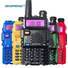 Walkie Talkie UHF VHF radio de Doble Banda Baofeng UV-5R UV 5R CB Radio Transceptor FM 128CH VOX Linterna para La Caza Radio