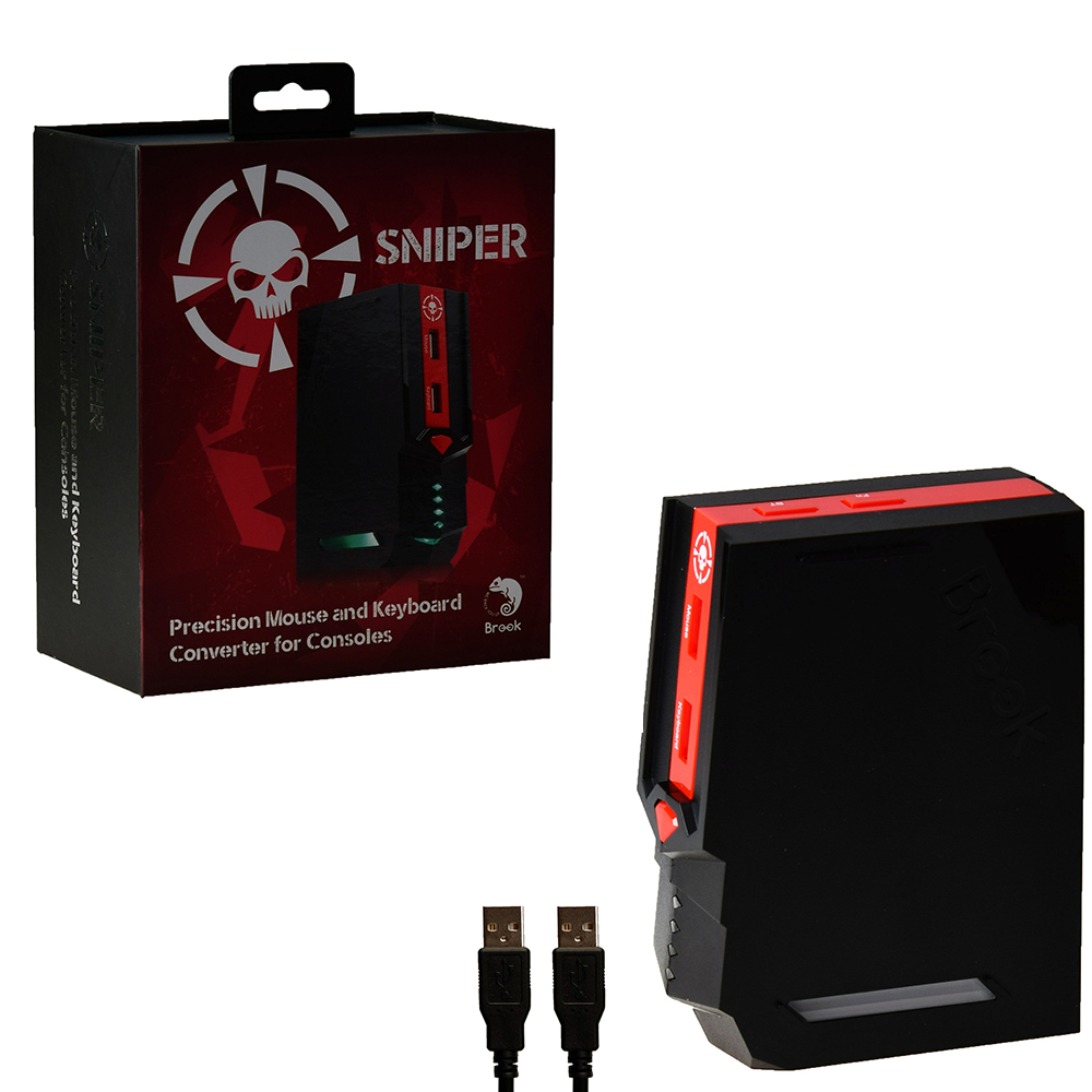 ブルック狙撃コンバータ最高精度マウスとキーボードアダプタ pc 用 PS4 ため PS3 Xbox One/360 nintend スイッチ  グループ上の 家電製品 からの 交換部品 & アクセサリー の中 1
