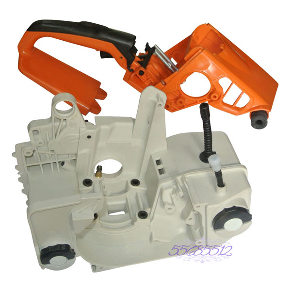 Crankcase Oil Fuel Gas Engine Housing & Trigger Handle Fit For STIHL021 023 025 MS210 MS230 MS250 Chainsaw Parts