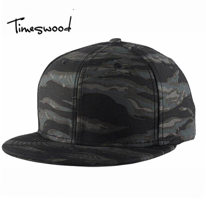 Prix pour [TIMESWOOD] marque Camo Snapback Caps 2017 New Hip Hop Chapeaux Pour Hommes Femmes Camouflage Casquette de baseball Style Casquette Os Aba Reta