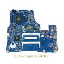 11309-2 48.4TU05.021 NBM1D11005 NB.M1D11.005 For acer aspire V5-471G Motherboard GeForce GT630M+i5-3317U