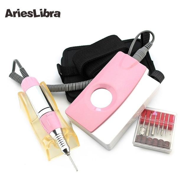 AriesLibra profesional portátil taladro eléctrico del clavo máquina ...