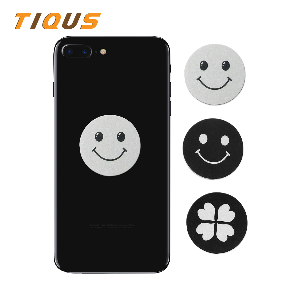 Tiqus Magnetic Car Phone Holder Accessories Metal Plate