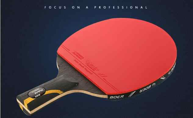 New design table tennis racket 9 layers long handle and short handletennis table racket