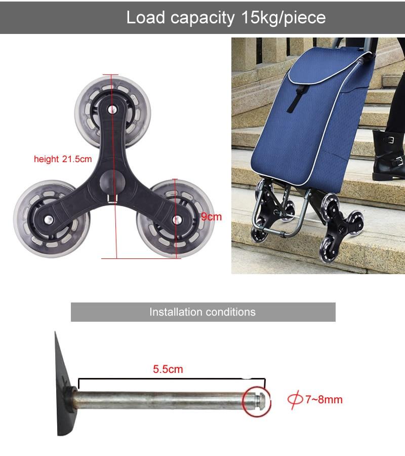 Triangle frame wheel/Climbing wheels,casters…