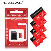 Clase 10 UHS-1 de tarjeta de memoria 128GB 64GB 32GB tarjeta Micro SD de 16GB 8GB 4GB tarjeta TF cartao de memoria usb flash tarjeta de regalo adaptador