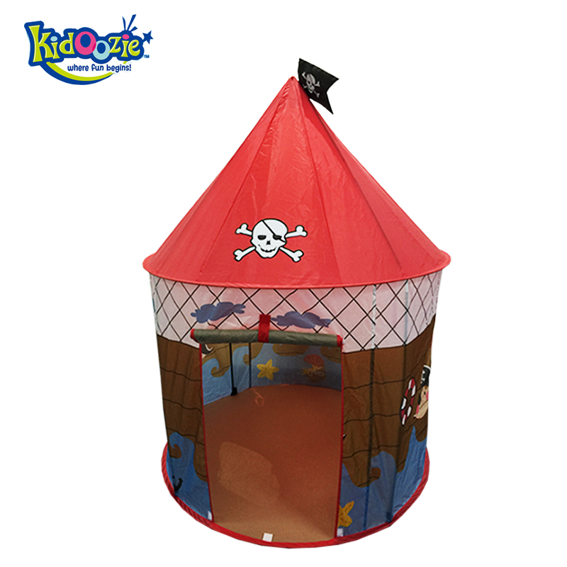 2017 Top vente maison de jeu pour enfants Pirate garçon jouer tente pour enfants meilleur cadeau juste est tipi
