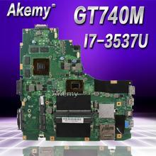 Carte mère d'ordinateur portable Akemy K46CB/K46CM pour ASUS K46CB K46CM K46C K46 Test carte mère d'origine I7-3537U GT740M
