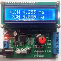 4 20 ma, 0 to 10 v 0 to 20 ma current signal generator voltage current signal transmitter signal generator