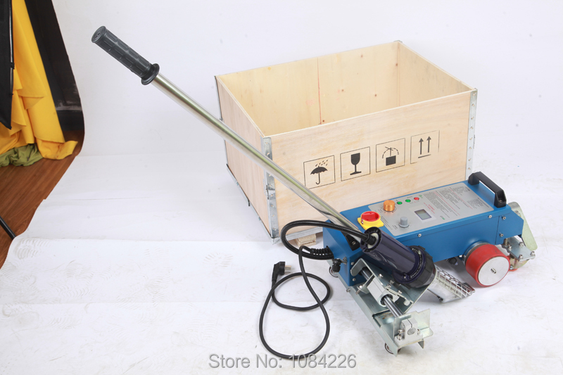 2018 nouveau LESITE pvc flex machine de soudage soudeur à air chaud