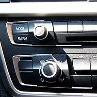 Interior Accessories for BMW 3series 320i F30 335i 328i dashboad console cd penal button switch decorative cover trim sticker