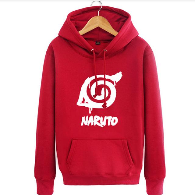Naruto Jacket Flag Hoodie Hip Hop