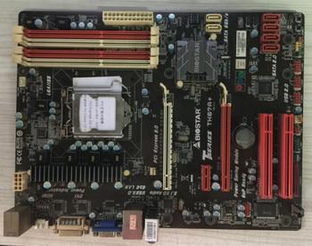 H67 1155 placa base utilizada original BIOSTAR TH67A + DDR3