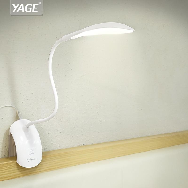 Schreibtischlampen Led Schreibtisch Lampe Mit Clip 1 W Flexible Led Lesen Lampe Usb Netzteil Led Buch Lampe.