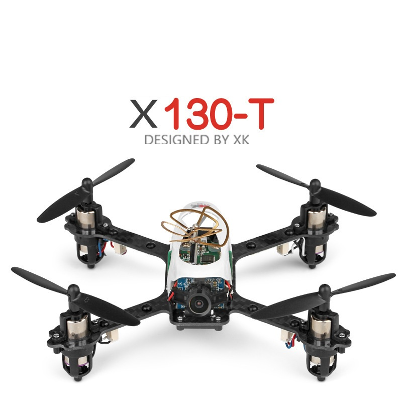 New Camera Traversing machine rc Drone X130-T 2.4G Carbon Fiber Frame 720P Wide Angle HD Camera RC Quadcopter can add 5.8Ghz FPV