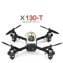 Kamera baru Melintasi mesin rc Drone X130-T 2.4G Bingkai Serat Karbon 720 P Wide Angle HD Kamera RC Quadcopter dapat menambahkan 5.8 GHz FPV
