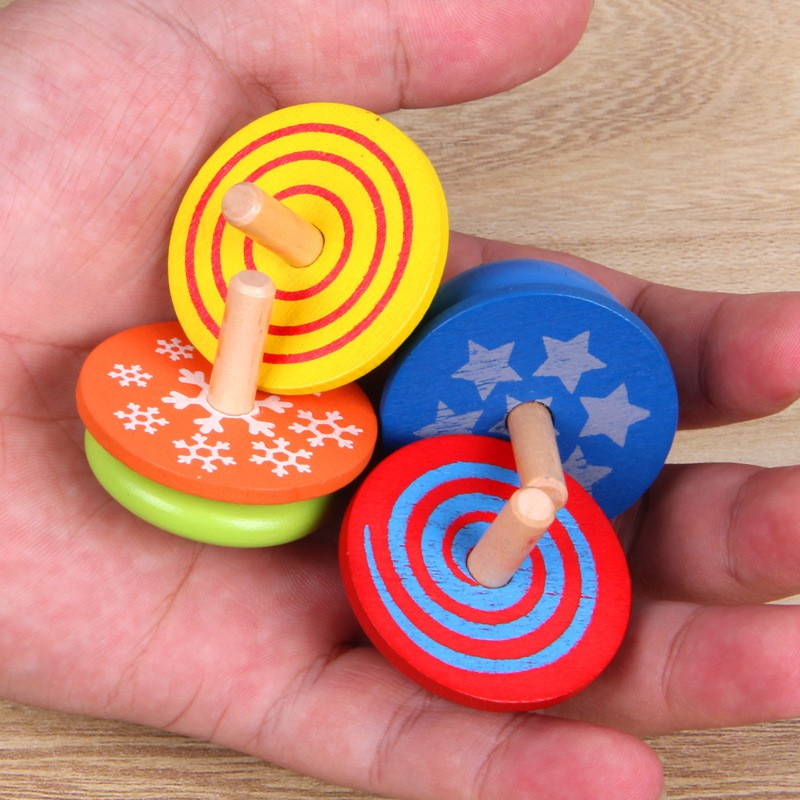 4Pcs EDC Top Spinner Toy For Kids Fidget Spinner Sensory Fidgets Autism ADHD Hand Spinners Anti Stress  Funny Toys