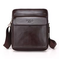 Genuine Leather Men Messenger Bag Casual Bussiness Men's Handbag Crossbody Shoulder Bag For Men Zipper Bags For Travel WBS422
