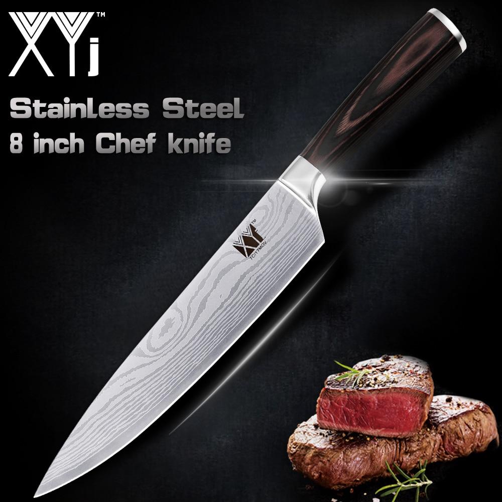 XYj المهنية اليابانية الفولاذ المقاوم - المطبخ ، الطعام وبار