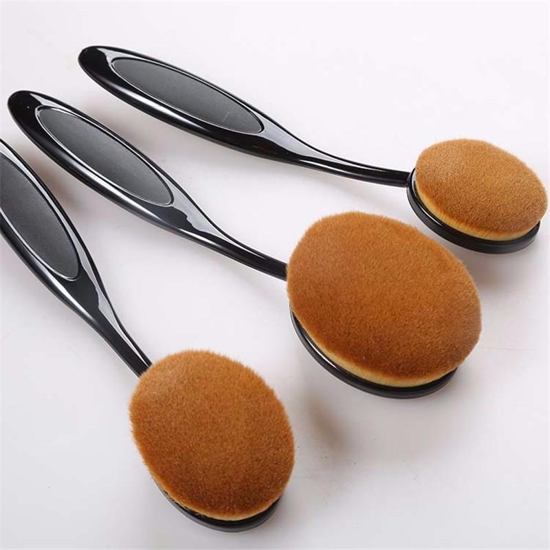Oval Makeup Brush Set (14)