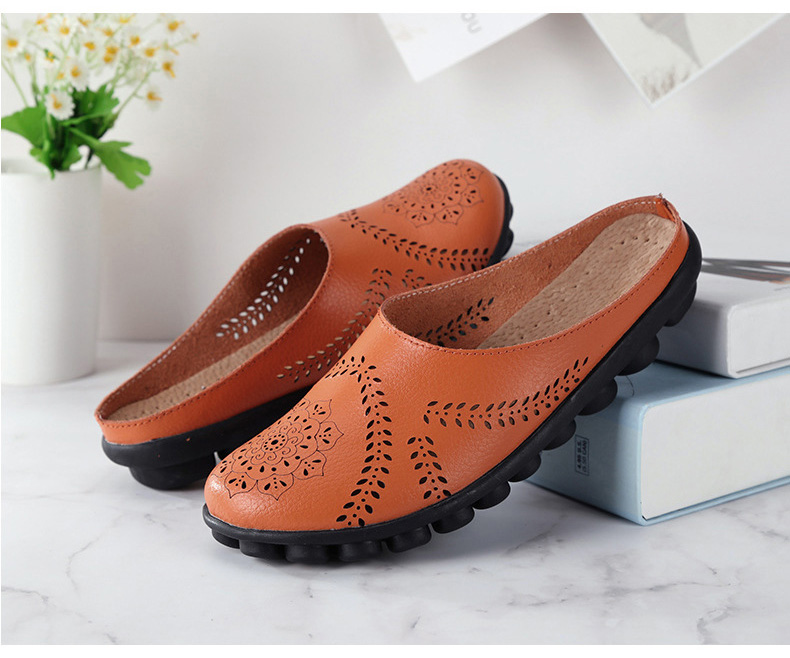 XY 991 Cut Outs Women's Summer Flats Shoes -9
