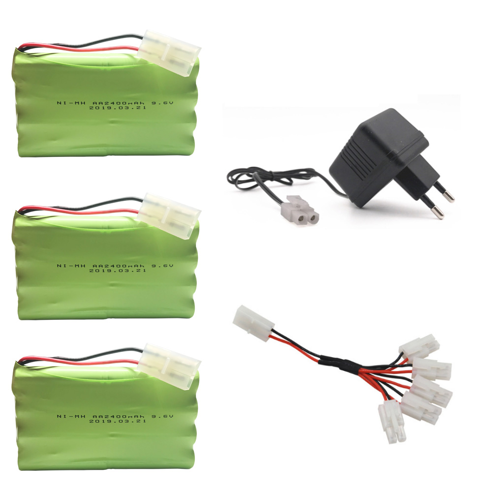 9.6V 2400mAh Remote Controul toy securty faclities <font><b>AA</b></font> 9.6 <font><b>v</b></font> 2400 mah battery <font><b>Ni</b></font>-<font><b>MH</b></font> battery group Kep-2p Plug/Tamiya Connectors image