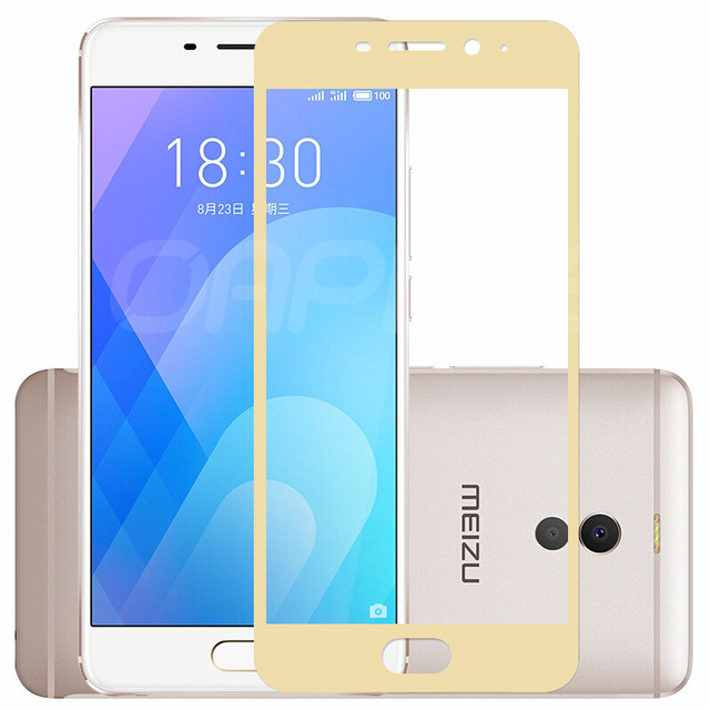 9D Tempered Glass on the For Meizu M6 M5 M3 Note M6S M6T M5S M5C M3S M8 Pro 7 Plus Screen Protector Protective Glass Film Case