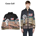 Men and women Winter Coats hip hop kenye Space Air Force American astronaut Justin Bieber zipper FOG MA1 Jackets Cooo Coll