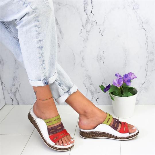 HEFLASHOR 2019 Fashion Women Slippers Summer Non-slip Slippers Casual Comfortable Beach Flip Flops Woman Shoes Zapatos De Mujer