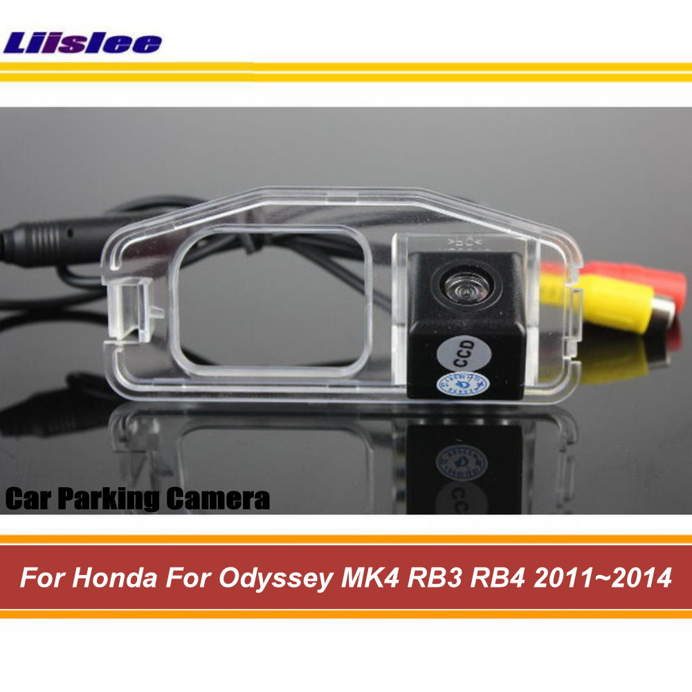 Liislee Car Camera For Honda Odyssey MK4 RB3 RB4 2011~2014 / Rear View Back Up Parking Camera / CCD Night Vision|rear view camera honda|honda rear camera|rear view camera - title=