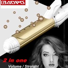 Styling Tool hair straightening curler comb Straightener