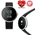 Bluetooth Pulsera Inteligente Muñequera Heart Rate Monitor de Presión Arterial V06 Smartband Banda Reloj para IOS Android Rastreador de Ejercicios