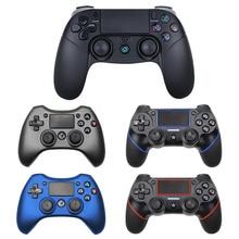 PS4 용 블루투스 무선 컨트롤러 지원 mando ps4 용 콘솔 Playstation Dualshock 4 PS3 콘솔 용 게임 패드