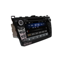 Black 2 Din 8 Android 4 4 Car Radio Stereo DVD Player For MAZDA 6 Ruiyi