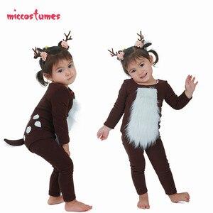 Image 1 - ילדים צבי תלבושות ילד צבי תלבושות עם קרנות עבור ליל כל הקדושים