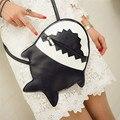 Women Shoulder Bag Female Fashion Handbags Leather Shark Pattern Crossbody Women Messenger Bags Envelope Evening Clutch Bag