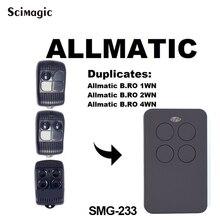 Frete grátis allmatic controle remoto allmatic B. RO 1WN/B. RO 2WN/B. RO3WN controle de garagem universal
