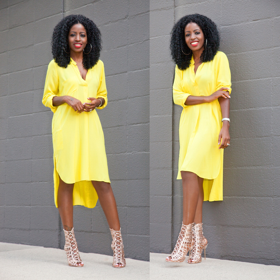 Hot spring autumn womens long sleeve deep v neck yellow loose mg0307a ombrellifo Choice Image