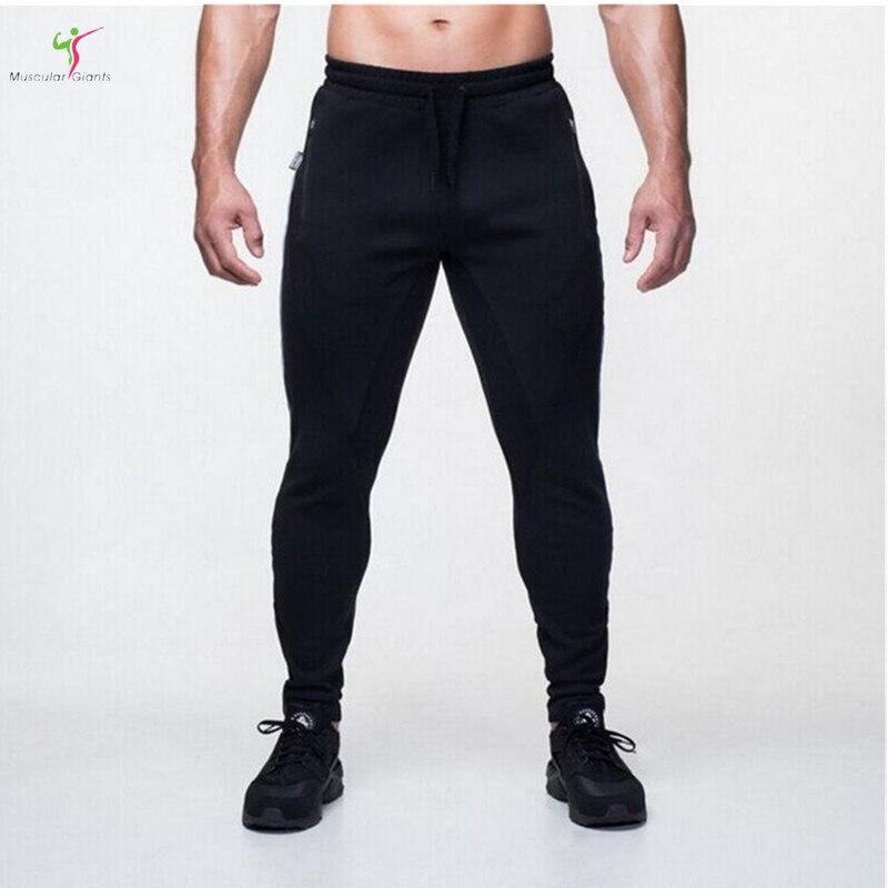2017 Gyms Men Joggers Casual Men fitness sweatpants Joggers pantalon homme Trousers sporting clothing Bodybuilding pants