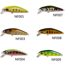 Smart Minnow Bait 5cm 6.1g Sinking Fishing Lures VMC Hook Isca Artificial Pesca Carp Fishing Wobblers Tackle Peche A La Carpe