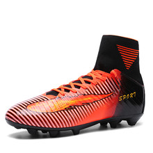 High Ankle Superfly Soccer Shoes Football Boots voetbal krampon futbol orjinal fussball schuhe scarpe da calcio alte