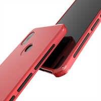 Funda de teléfono para carcasa trasera de plástico duro de marco de Metal de aluminio Xiaomi Redmi Note 5 para sensación perfecta de Xiaomi Redmi Note 5 Fundas
