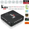 KM8 Pro Smart TV Box для Android 6.0 2 ГБ 16 ГБ Amlogic S912 Octa Core 4 К Коди 17.0 IPTV Streaming Media Player Mini PC Wi-Fi Bluetooth