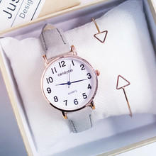 Female students simple trend, Mori, small, fresh and casual, wild watches Buckle  Fashion & Casual Quartz