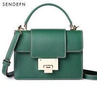 SENDEFN Small Women Bag Brand Crossbody Bag Fashion Bag Female Split Leather Women Shoulder Bag 2017